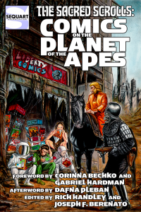 Sacred Scrolls Planet of the Apes Cover